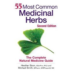 Boon and Smith-55 Most Common Medicinal Herbs  BOOK NEW